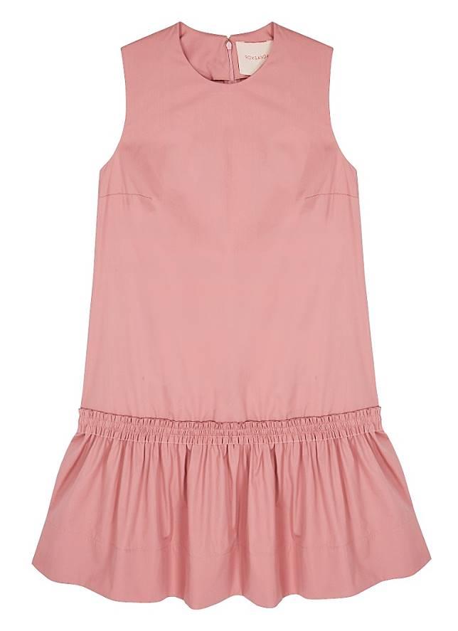 Roksanda粉紅色娃娃裙(互聯網)