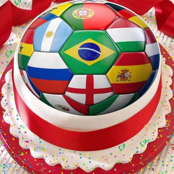 Kreasi 7 World Cup Cake Unik Gak Tega Deh Motongnya