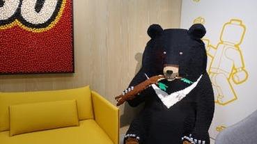 【辦公室開箱】樂高台灣:滿滿的樂高與在地元素