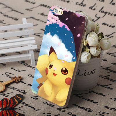 iPhone 5S 5G 5 i5 SE 手機殼 軟殼 保護套 pokemon go 寶可夢 皮卡丘