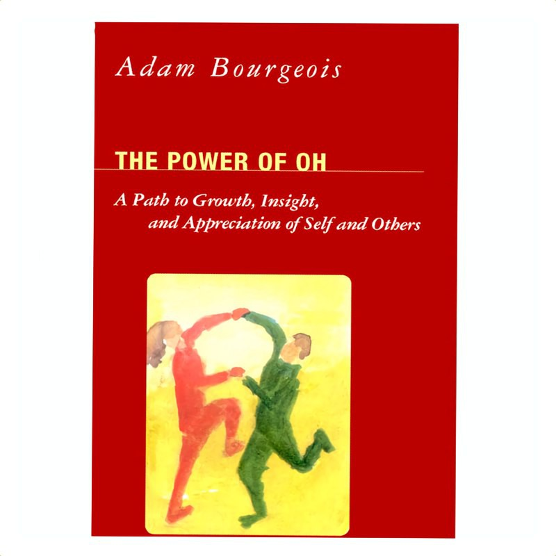The Power of OH(OH卡牌意介紹原文書)一個成長、洞見和欣賞自己與別人的途徑這是一本 200 頁的工作手冊,由亞當布爾喬伊(Adam Bourgeois)所執筆,裡面有88張OH Car