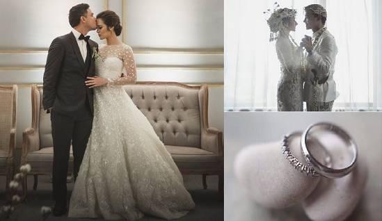(Pernikahan Raisa dan Hamish Daud. Foto: Bride Story)