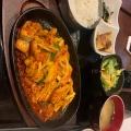 今日のランチ - 実際訪問したユーザーが直接撮影して投稿した新宿韓国料理本格韓国料理店 招待 新宿東口店の写真のメニュー情報
