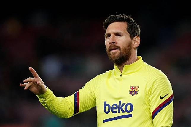 Lionel Messi serang balik direktur Barcelona Eric Abidal