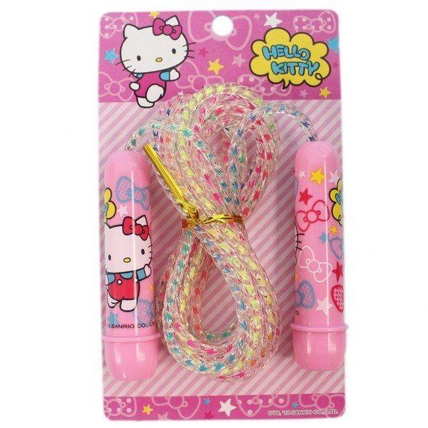 成功 Hello Kitty 跳繩 KT彩炫跳繩 A401/一箱6條入(定100) 塑柄 ST安全玩具-高等