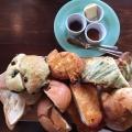 パンの盛り合わせ - 実際訪問したユーザーが直接撮影して投稿した太子堂カフェnukumukuの写真のメニュー情報