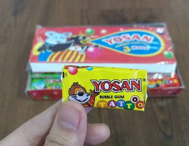Permen karet Yosan