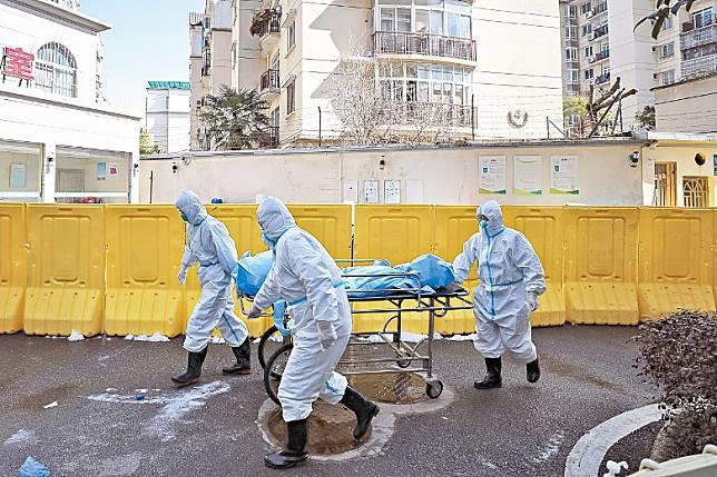 武漢現時幾乎每日均有死亡個案。