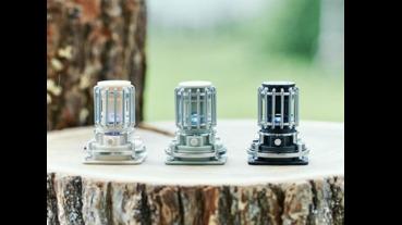 復古煤油燈轉蛋,LED重現藍色火焰改用眼睛取暖