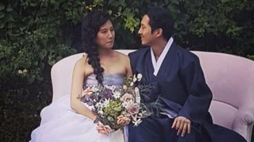 《陰屍路》Glenn 結婚啦!傳統韓服迎娶美嬌娘 眾演員婚禮大合體