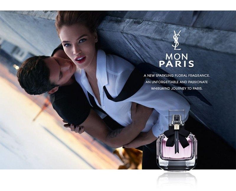 YSL 聖羅蘭 MON PARIS 慾望巴黎 女性淡香精 30ML 50ML 90ML◐香水綁馬尾◐