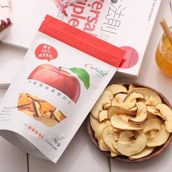 ◆重量/容量:70公克/袋 ◆成分:蘋果 ◆產地:台灣 ◆有效期限:未拆封9個月(詳見外袋標示) ◆食用方式:拆開即食,拆封後請盡快食用完畢