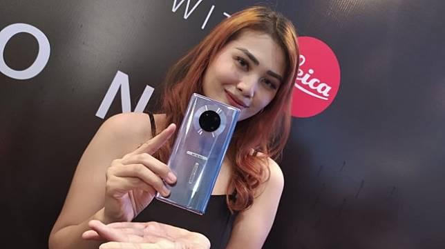 Huawei Mate 30 Pro diluncurkan di Jakarta, Kamis (14/11/2019). [Suara.com/Tivan Rahmat]