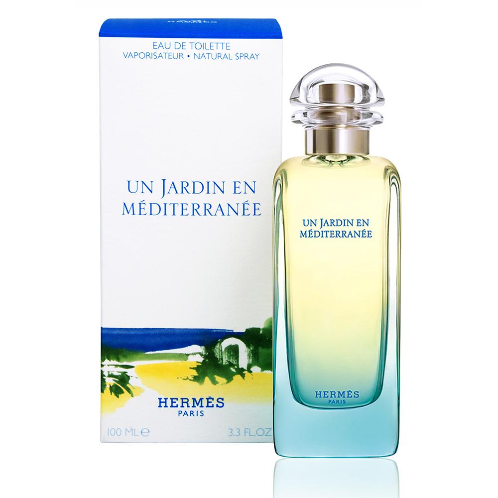 HERMES Un Jardin En Mediterranee 愛馬仕地中海花園中性淡香水 100ml【5295 我愛購物】