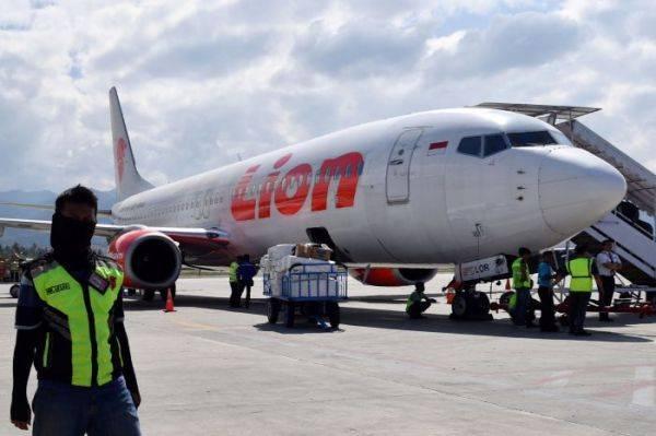 Pesawat milik Lion Air