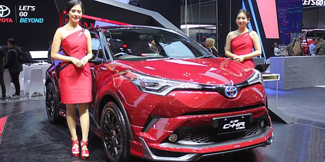 Booth Toyota pada GIIAS 2019 lalu (Nazar Ray)