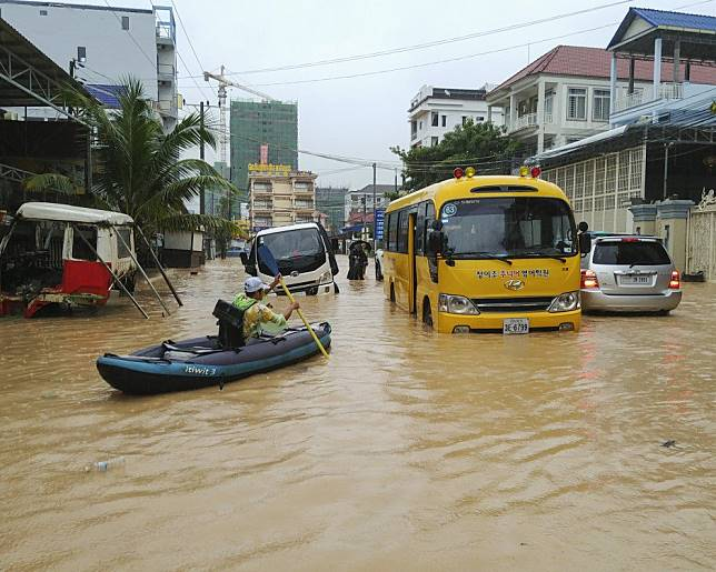 Is Chinese money drowning Sihanoukville, Cambodia? Floods
