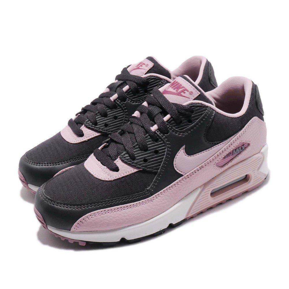 NIKE 休閒鞋 Air Max 90 復古 女鞋 氣墊 穿搭 舒適 流行 球鞋 粉 灰 [325213-059]