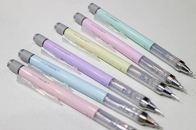 MONO Graph粉色系鉛芯筆($25/支)