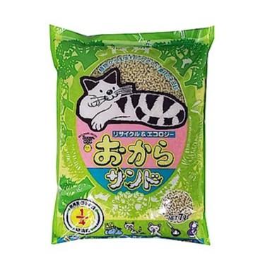 【韋民豆腐砂】日本產/環保除臭貓砂/SuperCat 7L超級貓豆腐沙