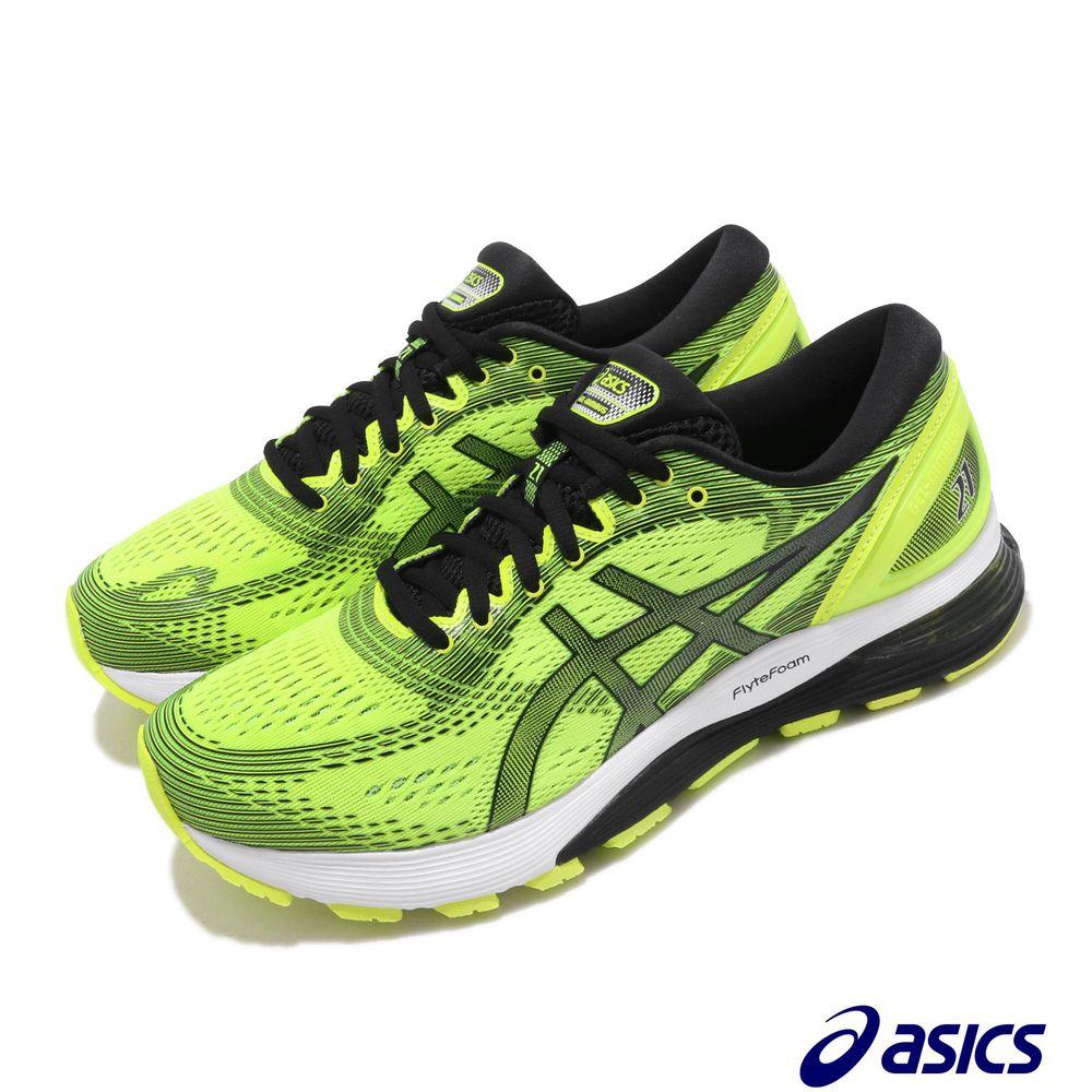 專業慢跑鞋品牌:ASICS型號:1011A169750品名:Gel-Nimbus配色:黃色,黑色版型:版型正常