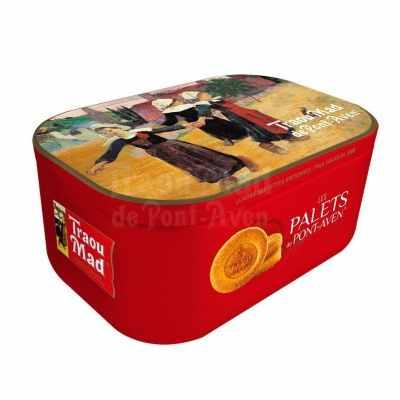 跳舞小女孩禮盒(厚片酥脆)- 法國Traou Mad傳統餅乾品牌 Breton girls dancing 中秋禮盒系列 法國原裝進口