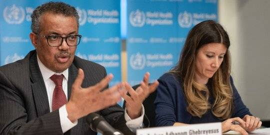 Direktur WHO Tedros Adhanom Ghebreyesus. ©2020 AFP PHOTO/CHRISTOPHER BLACK/WORLD HEALTH ORGANIZATION