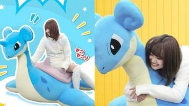 想抱!日本推出大尺寸「乘龍」抱枕 騎上去實現童年夢想!
