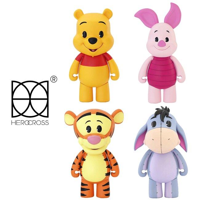 【正版授權】HEROCROSS CFS系列 小熊維尼 公仔 模型 小豬 跳跳虎 屹耳 迪士尼 Disney