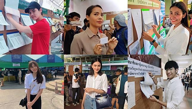 เลือกตั้ง62 คึกคัก – รวมภาพ ศิลปินดารา ออกไปใช้สิทธิ์เลือกตั้ง