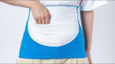 日本 HOBONICHI 推出哆啦A夢「四次元百寶袋」造型肚圍50週年紀念商品