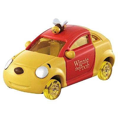 任選TOMICA DM-18 小熊維尼蜂蜜車 蜂蜜輪DS96757 迪士尼小汽車
