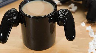 遊戲手把造型馬克杯,飲料喝完真的GAME OVER