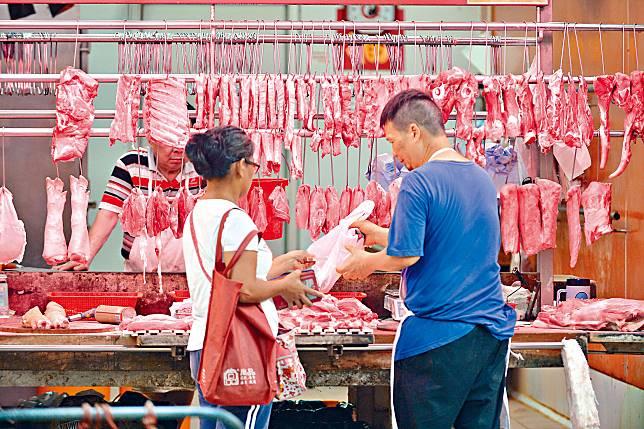 豬肉價格升幅最為明顯。