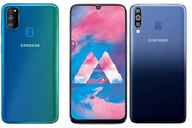 Samsung Galaxy M30s (kiri) dan Samsung Galaxy M30. (gsmarena/samsung)