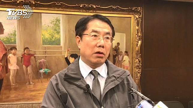 中央列出的11處警示景點有3處在台南,黃偉哲認為此舉有點像「亂槍打鳥」。(圖/TVBS)