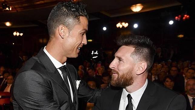 Cristiano Ronaldo, Lionel Messi, Pemain Terbaik FIFA 2017