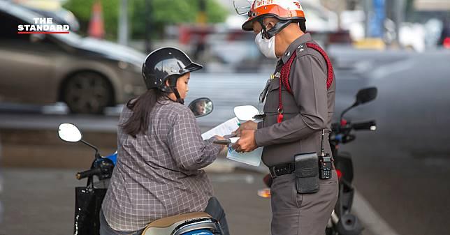 เริ่มพรุ่งนี้ กองปราบปรามย้ำกฎหมายใหม่ ยกเลิกยึดใบขับขี่-ห้ามติดใบสั่งที่รถถ้าไม่พบตัวผู้ขับขี่