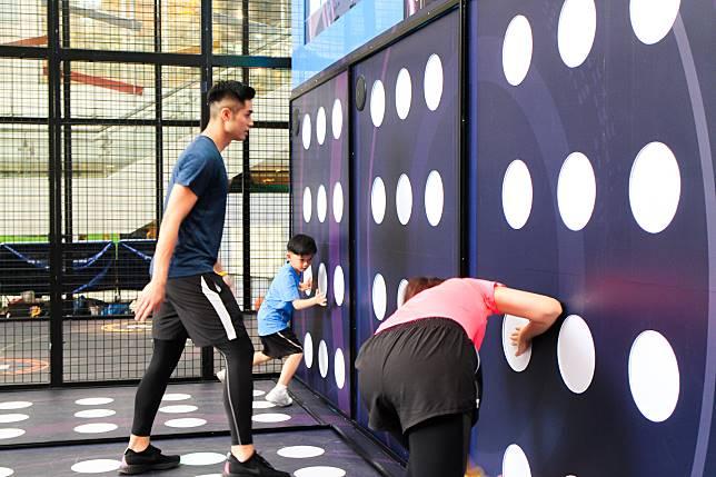 訓練站可讓4人同時玩。