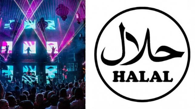 Ilustrasi Klub Malam Halal