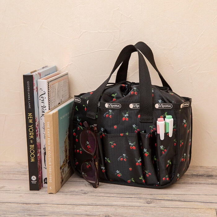 LESPORTSAC COLLECTION BOOK MULTI BOX/STRAWBERRY PATCH