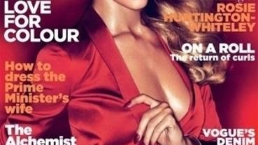 變形金剛女主角Rosie Huntington-Whiteley 登上《VOGUE》英國版2011年3月號封面