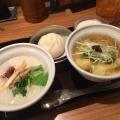 蒸鶏H&Hセット - 実際訪問したユーザーが直接撮影して投稿した西新宿中華料理粥餐庁 新宿京王モール店の写真のメニュー情報