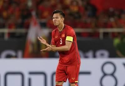 Quế Ngọc Hải hài lòng dù bị Myanmar cầm hòa tại AFF Cup