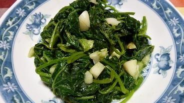 炒地瓜葉 – 小媳婦下廚教學
