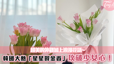 韓國大熱「星星鬱金香」超美的外觀加上浪漫花語~攻破少女心!