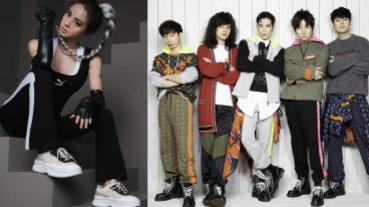 姐的霸氣、哥的帥氣擋不住!蔡依林、蕭敬騰聯手時尚品牌難掩氣場