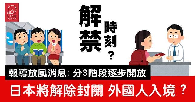 日本签证者 解除入国限制起6个月内有效(图1)