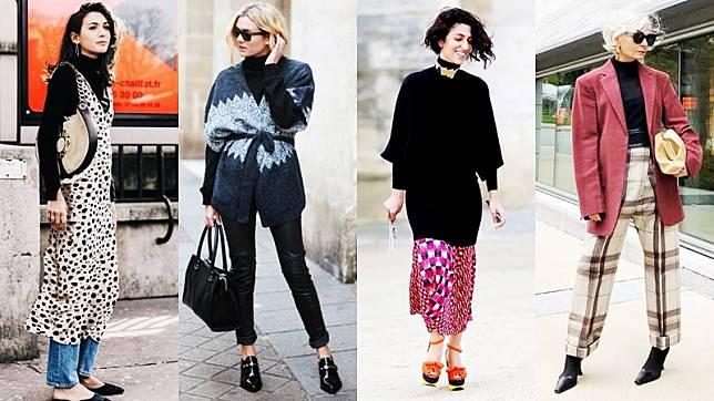 แฟชั่นเสื้อคอเต่า สีดำ ไอเทมสุดคุ้ม มีตัวเดียวใส่ได้ทั้งร้อนหนาว แค่แมทช์ให้เป็น!!