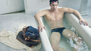 美國飛魚 Michael Phelps Louis Vuitton 形象廣告登場